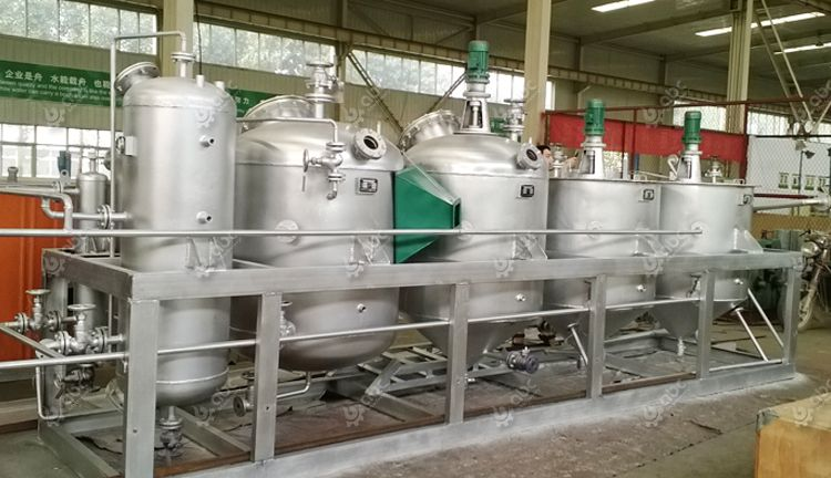 1tpd small palm kernel oil refining machine for sales