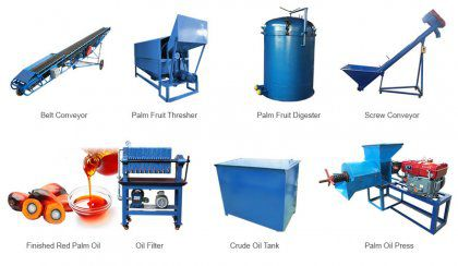 10-20 ton/d Small Palm Oil Mill Plant