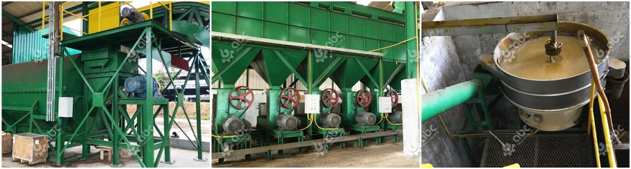 5tph palm oil mill plant installed in Thailand