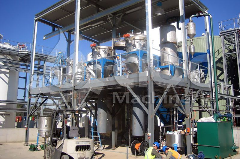 set up medium sized palm oil refining plant