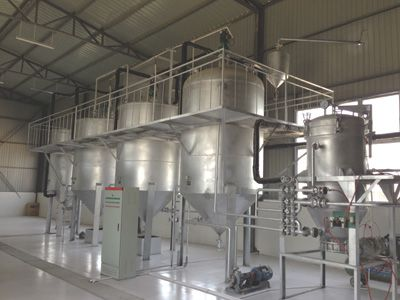 small scale palm kernel oil refining line