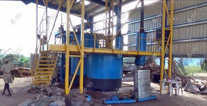 2 ton/h Crude Palm Oil Machine in Nigeria