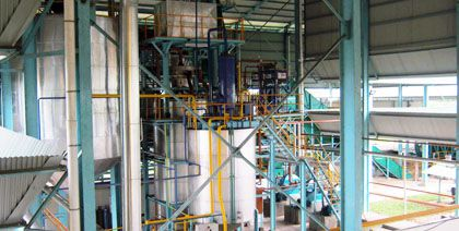 crude palm oil clarification equipment