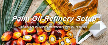 Crude Palm Oil Refining Machine for Edible Oil Business