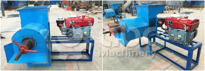 low cost diesel engine small palm oil pressing machine