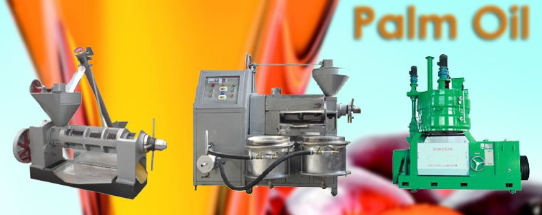 small and large palm oil screw press