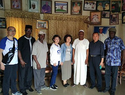Business Visit to Palm Fruit & Kernel Oil Production Clients in Nigeria