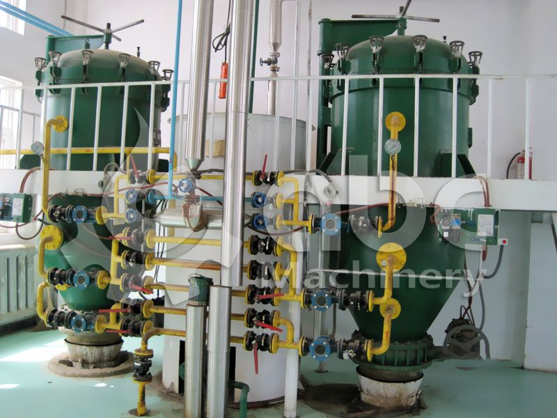vacuum leaf filter used in industrial palm oil refining plant