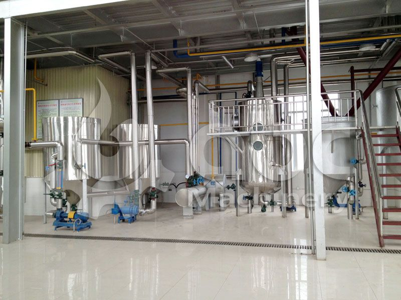 Turnkey Project of Palm Oil Refinery Plant-Physical Refining