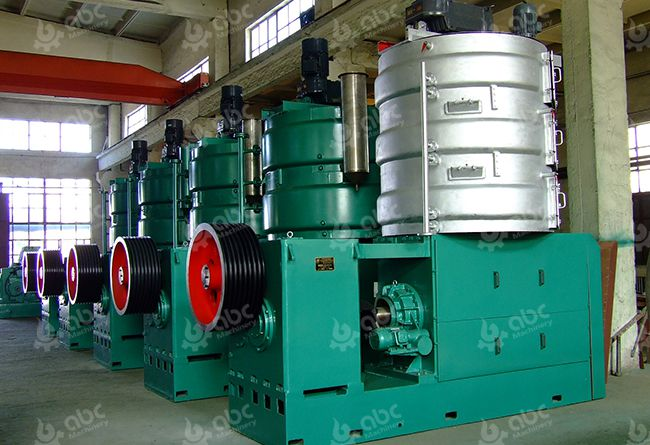 Large Palm Kernel Oil Pressing Machine