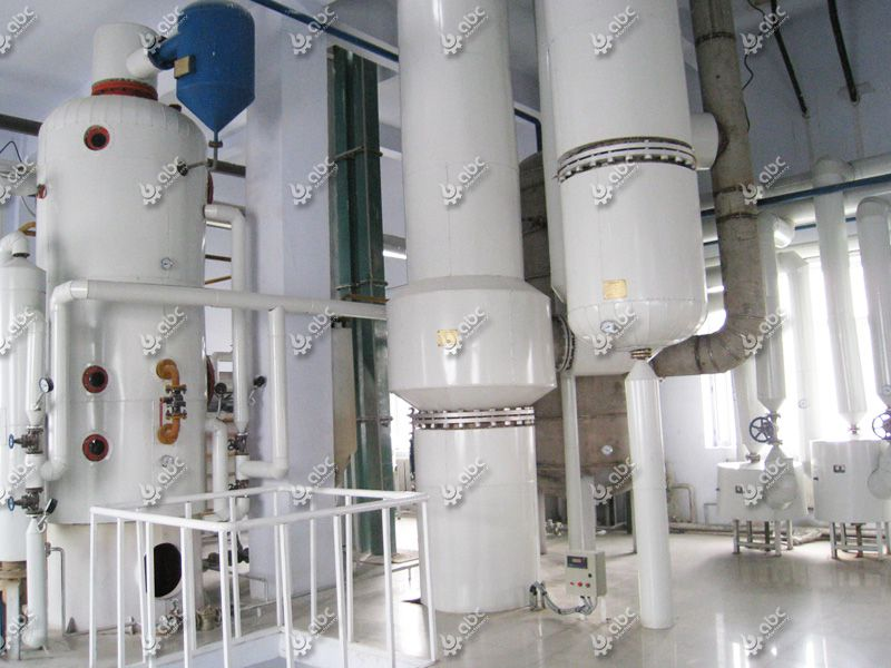 large palm kernel oil refinery plant
