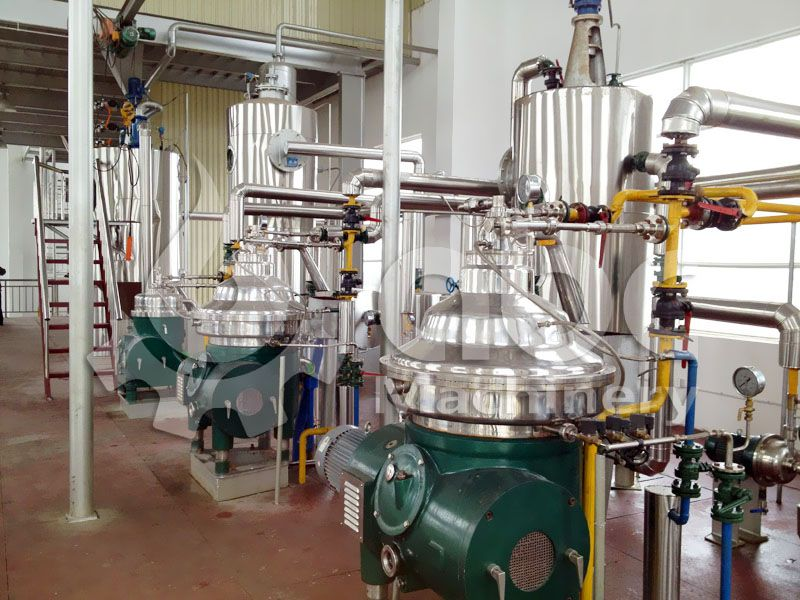 starting large scale palm oil refining plant