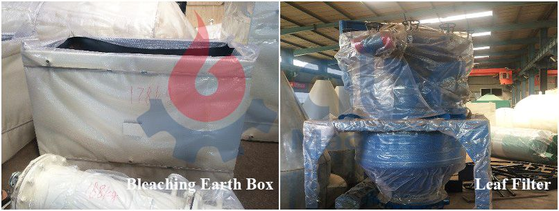 leaf filter and bleaching box
