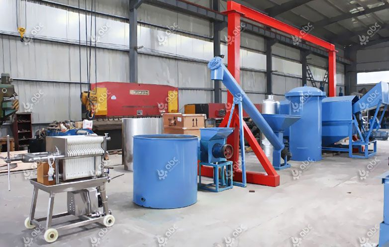 low cost small palm oil milling plant
