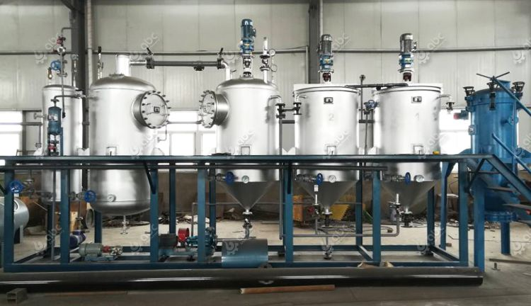 factory price palm kernel oil refining plant