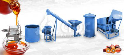 1-10 ton/d Mini Palm Oil Mill Plant