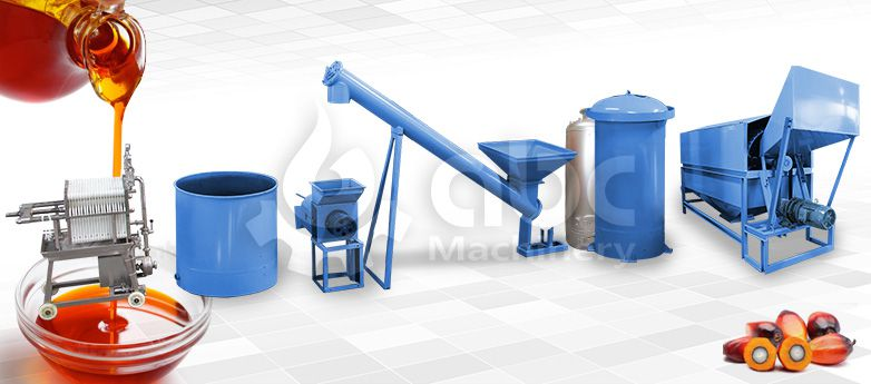 build a mini palm oil mill plant low cost factory layout