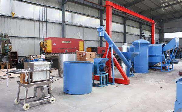 mini palm oil milling plant equipment for 1-10 ton production line