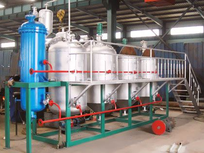 low cost mini palm oil refinery machine