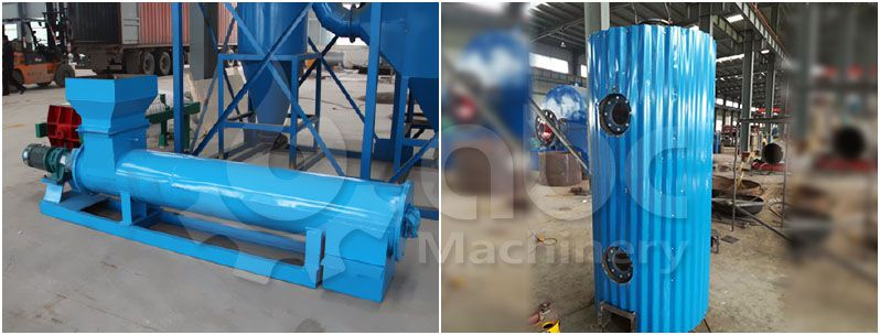 palm fruit digester machine