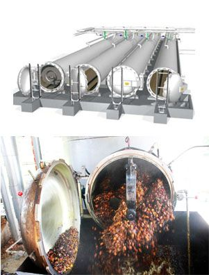palm fruit sterilizing machine