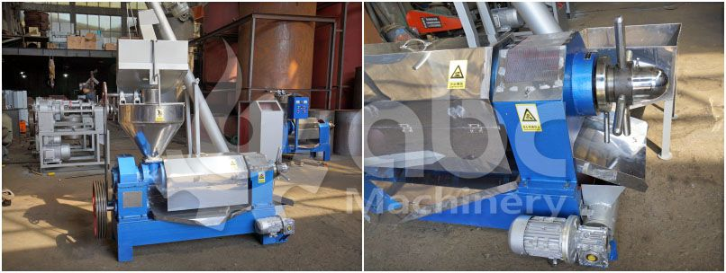 palm kernel oil press expeller machine with factory price for sales