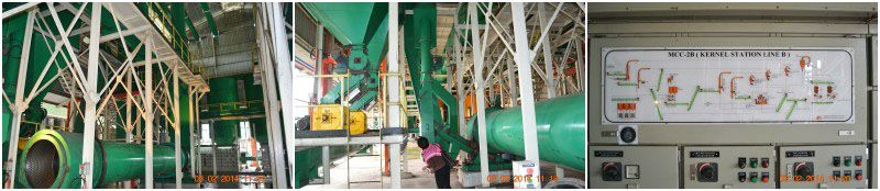 palm kernel recovery plant