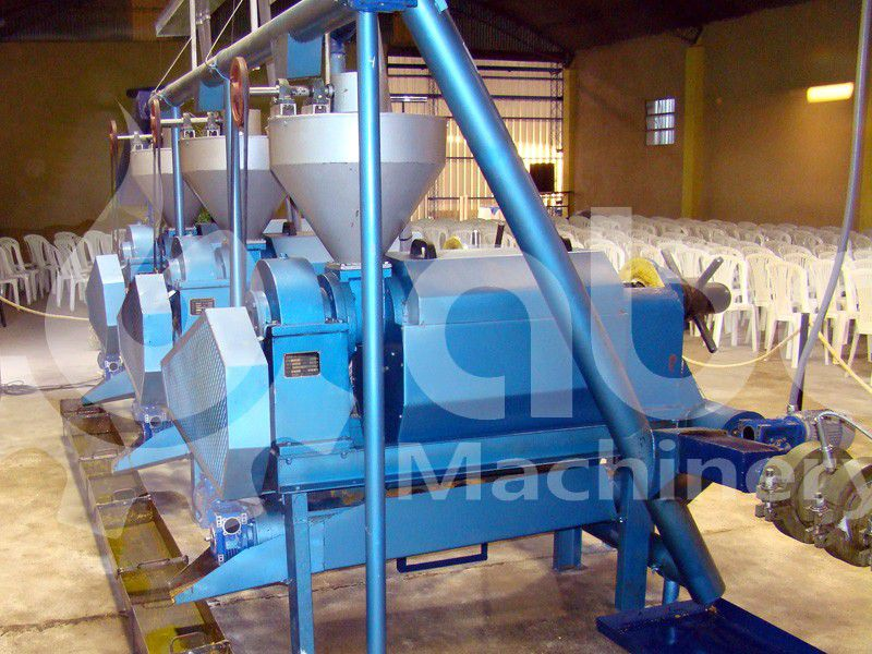 palm kernel screw press