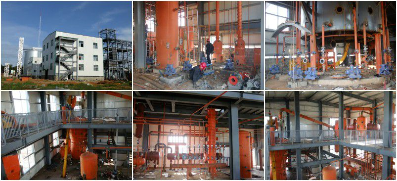 palm kernel solvent extraction line