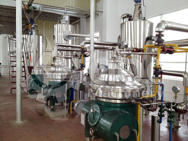 typical chemical refining process of palm oil