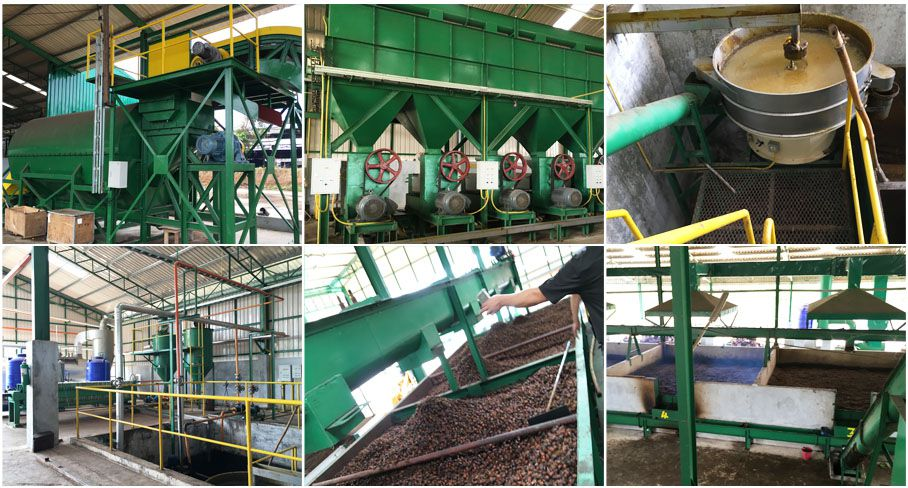 palm oil production machinery and equipment
