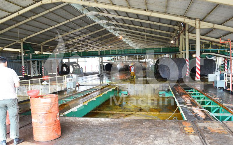 palm oil production mill of full scale oil mill plant