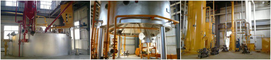 palm oil solvent extraction plant