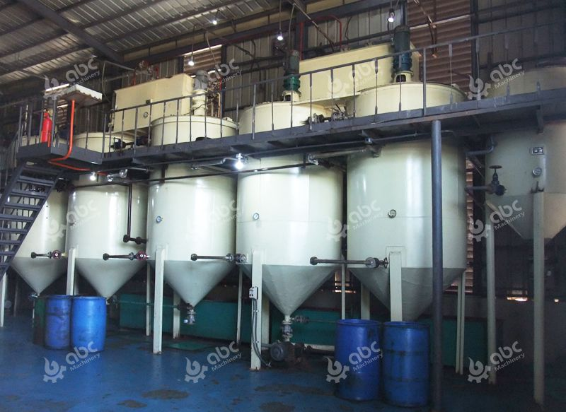 medium size palm oil refinery plant in Kenya