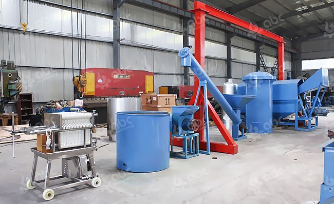 Small Palm Kernel Oil Pressing Lline