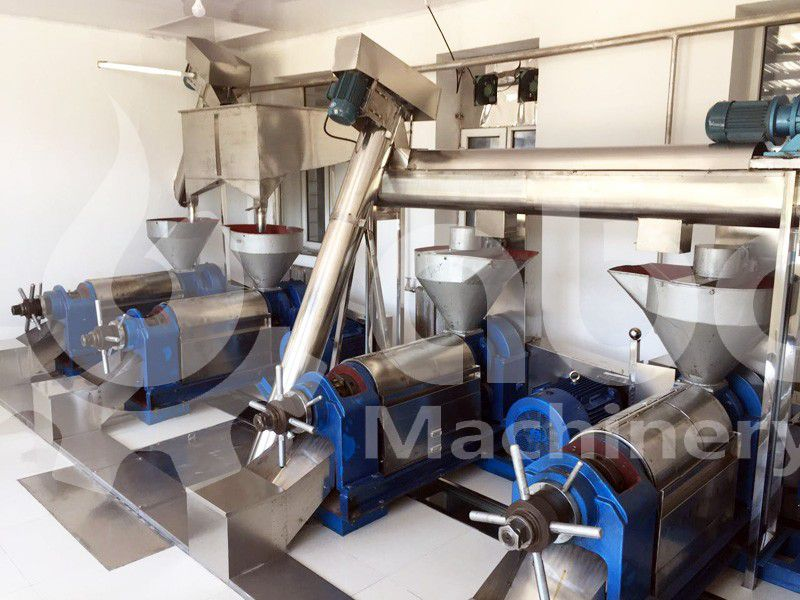 small palm kernel oil pressing unit