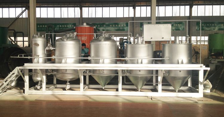 small palm kernel oil refinery plant for sales