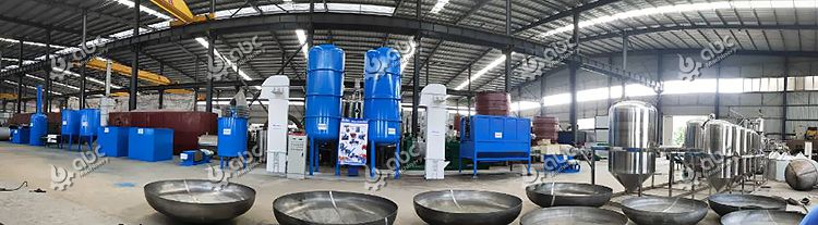 Small Palm Oil Extraction Plant
