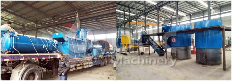 small palm oil manufacturing plant shipment