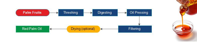 small palm oil milling process design