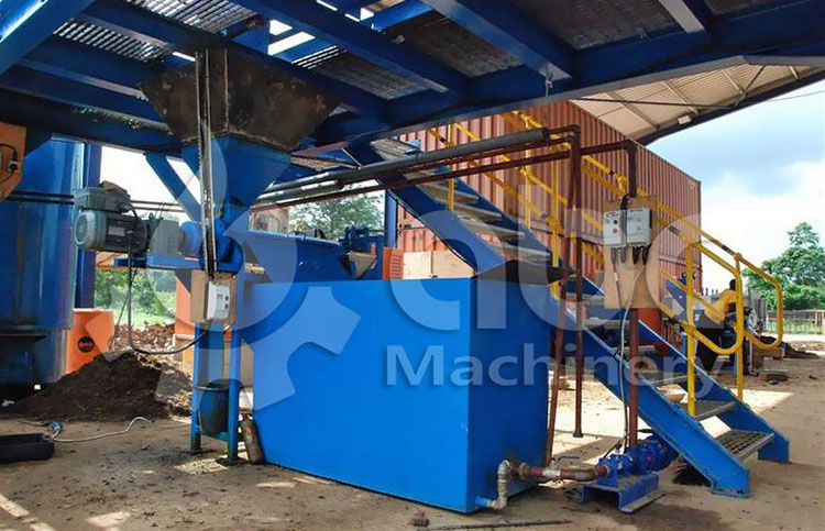 screw type small palm oil pressing machine