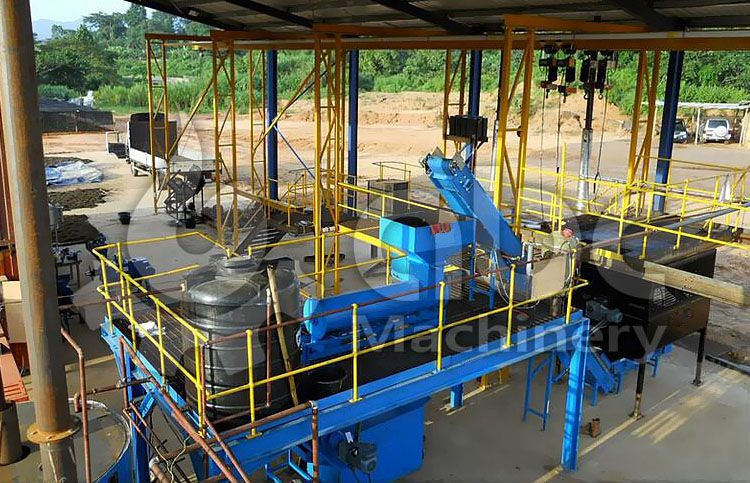 small palm oil processing plant layout design