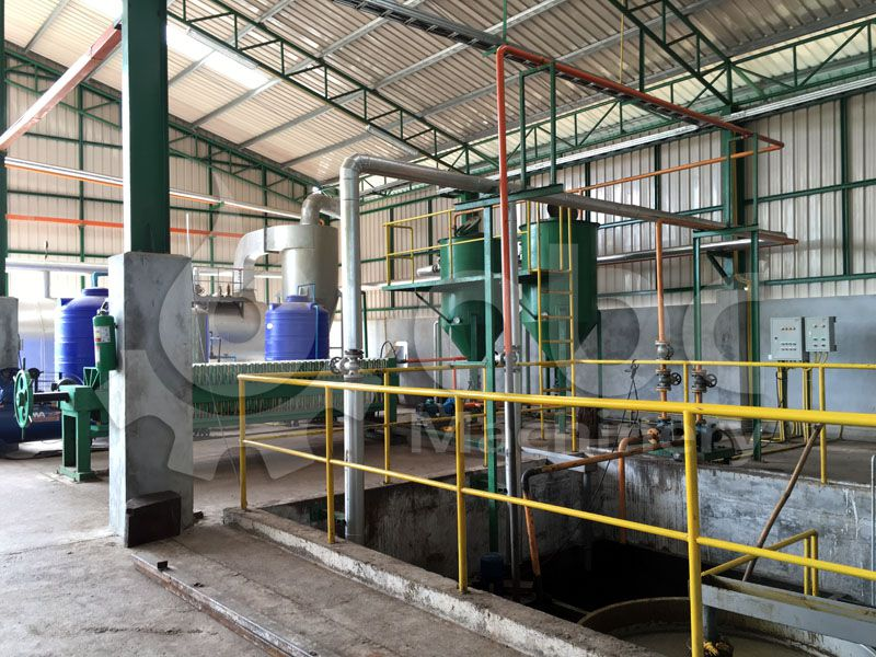 small palm oil purification plant for 5 TPH Factory