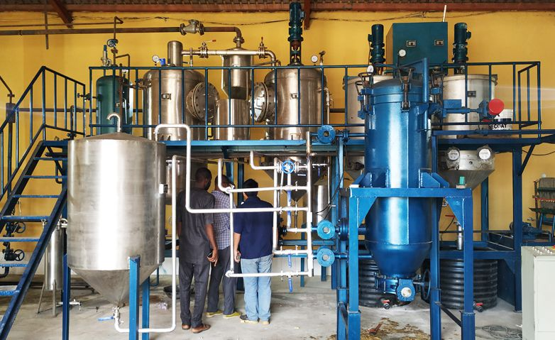 small palm oil refining machine