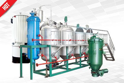 mini and small palm oil refining process