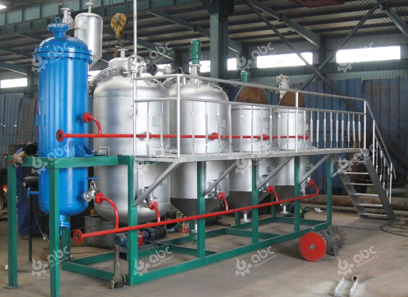 small size palm oil refinery line for sale