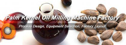 Complete Palm Kernel Oil Milling Machine and Process for Business
